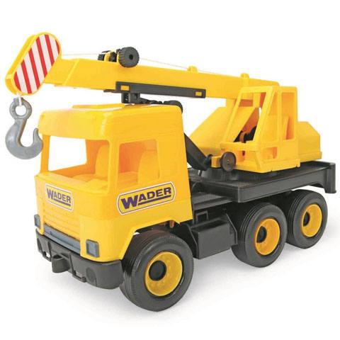 Szuper darus játék autó, ha szeretsz építkezni.