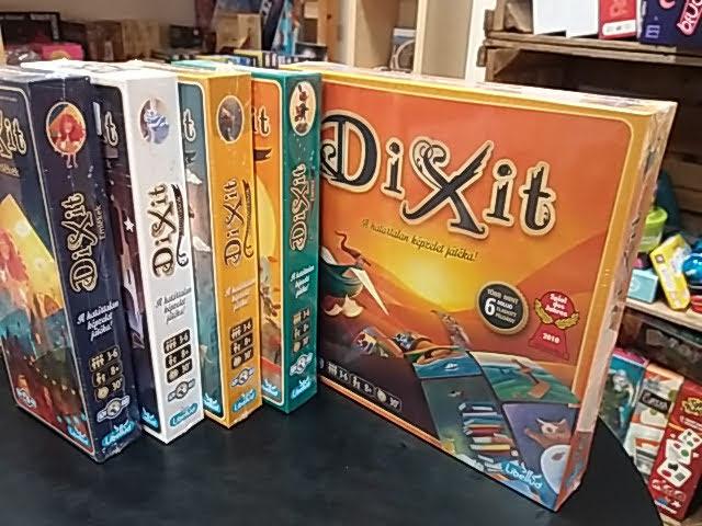 Az egyik legnépszerűbb díjnyertes társasjáték család, a Dixit!