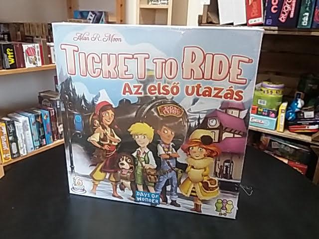 Szuper díjnyertes társasjáték, a Ticket to Ride!