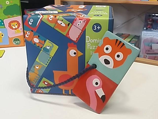Állatos domino játék a Djeco-tól!