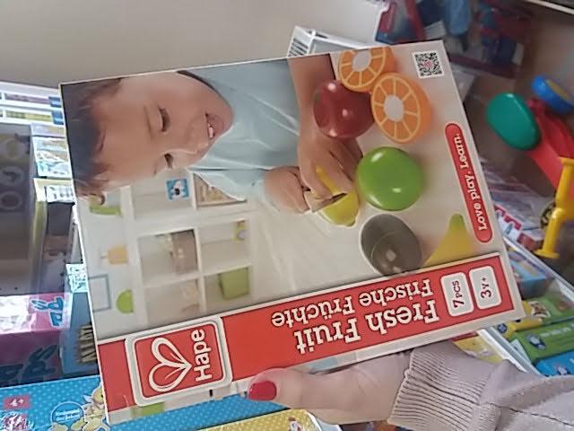 Gyümölcsszeletelős játék kicsiknek!