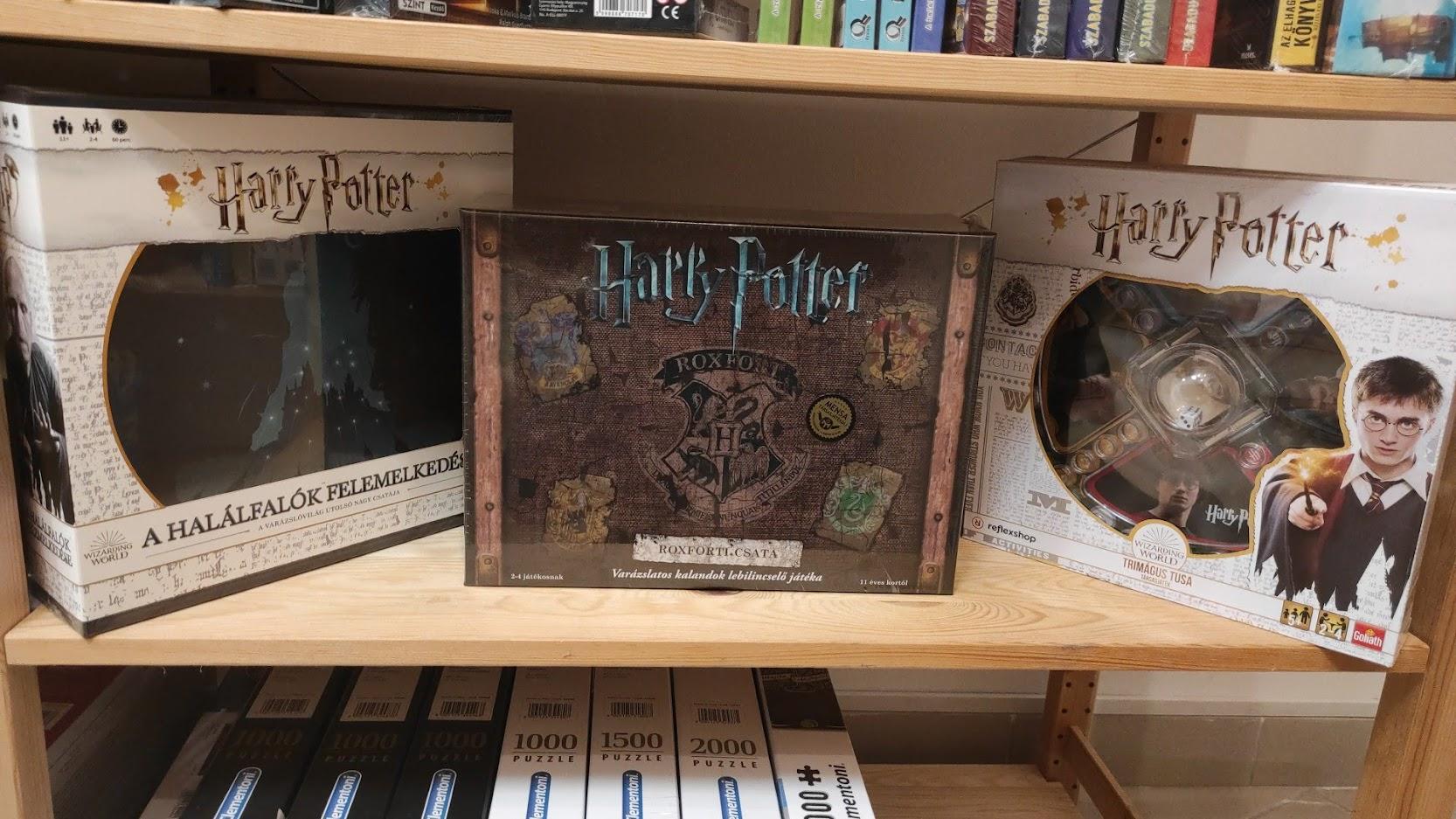 Szuper Harry Potteres társasjátékok!