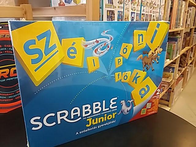 Scrabble junior játék 6 éveseknek!