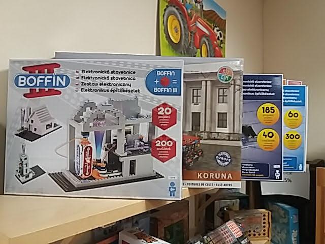 Boffin elektronikai építő játékok 9 éveseknek!