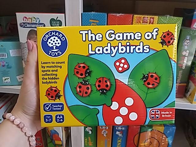 Szuper katicás fejlesztő játék kicsiknek!