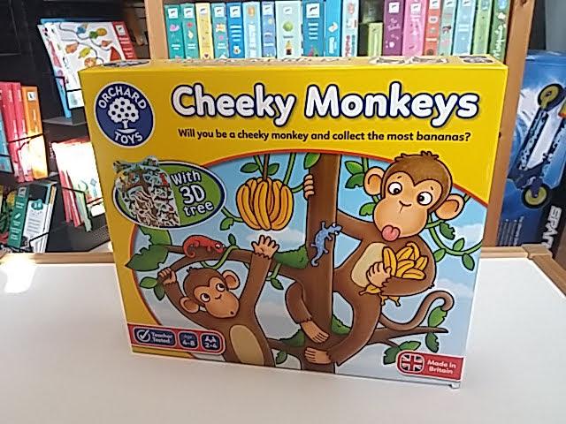 Szuper majmos társasjáték kicsiknek!