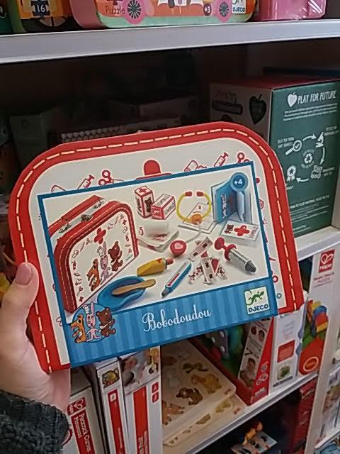 Orvosi táska mentős játékokhoz!