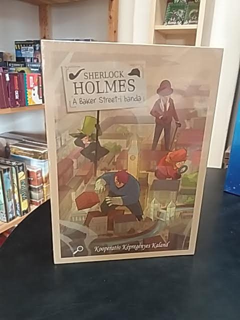 Kalandozz Sherlock Holmes-szal ebben az izgalmas nyomozós játékban!