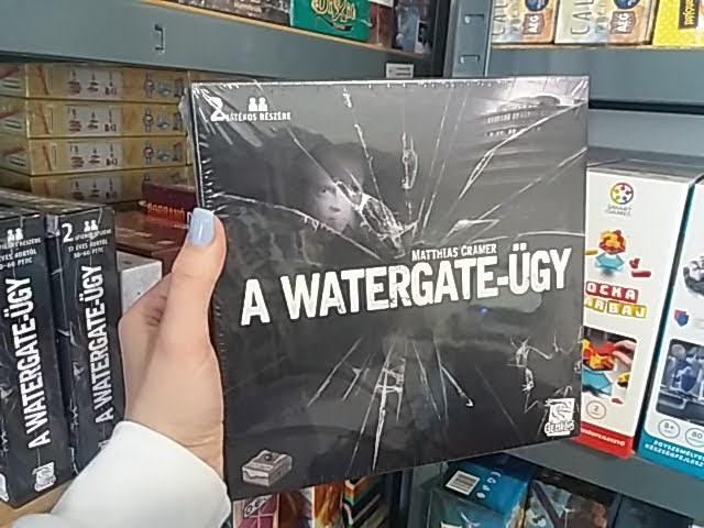 Nyomozz a Watergate-ügyben szuper nyomozós játékkal!