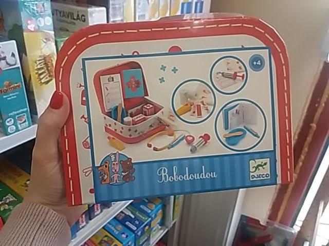Orvosi játék táska a Djeco-tól!