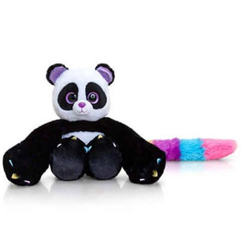 Aranyos nagyszemű plüss panda!