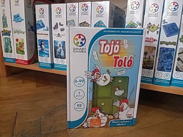 Szuper logikai Smart Games játék, a Tojó toló!