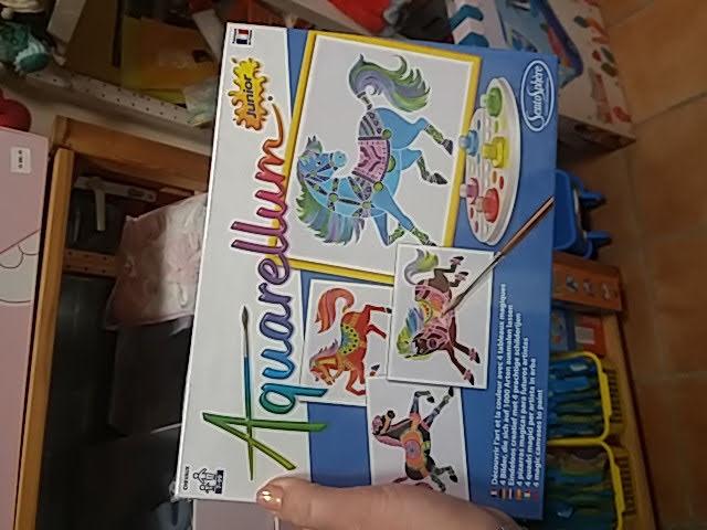 Különleges aquarellum színezős játék!