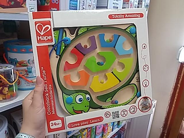 Szuper teknősös játék a színek tanulásához, a kézügyesség fejlesztéséhez!