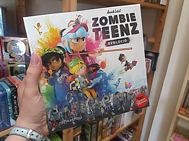 Mentsétek meg a várost a zombis társasjátékkal.
